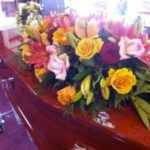 Single Ended Floral Sheath - Coffins & Caskets - Greenhaven Funerals